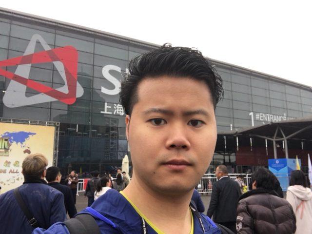 上海展示会にて奥義炸裂!!